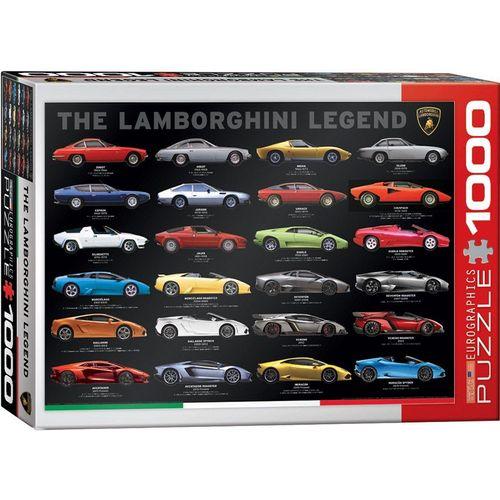 empireposter Puzzle »Lamborghini die Legende - 1000 Teile Puzzle Format 68x48 cm«, 1000 Puzzleteile