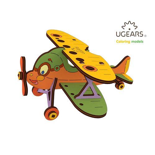 UGEARS 3D-Puzzle »UGEARS Holz 3D-Puzzle Modellbausatz DOPPELDECKER«, 23 Puzzleteile