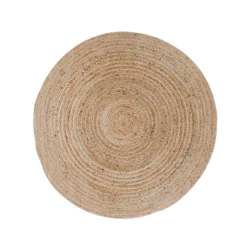 Teppich »Broom Teppich Ø90 cm in Jute natur.«, ebuy24, Höhe 1 mm