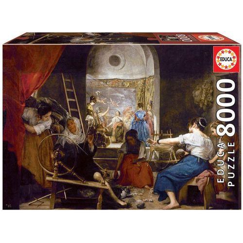 Educa Puzzle »LAS HILANDERAS, VELÁZQUEZ«, 8000 Puzzleteile