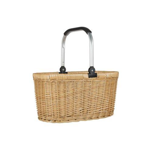 anndora Einkaufskorb »Einkaufskorb Weidenkorb mit Alurahmen 22 L