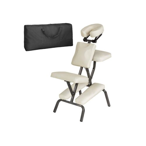 tectake Massagesessel »Massagestuhl aus Kunstleder