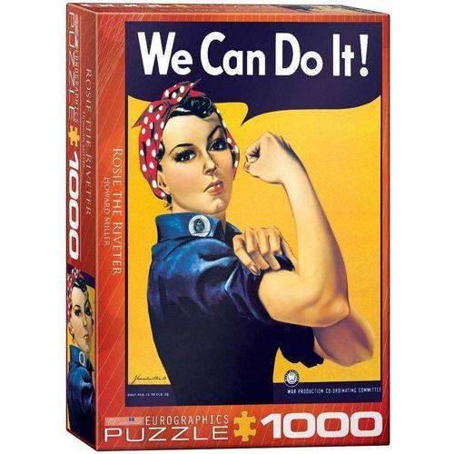 empireposter Puzzle »American Classics We can do it - 1000 Teile Puzzle - Format 68x48 cm«, 1000 Puzzleteile