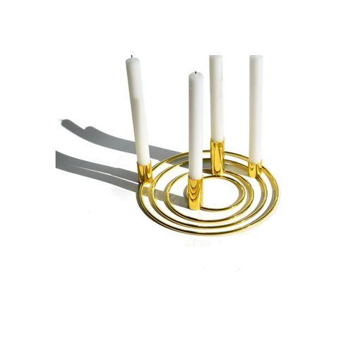 Blue Chilli Design Kerzenhalter »Blue Chilli Design Kerzenhalter in Gold