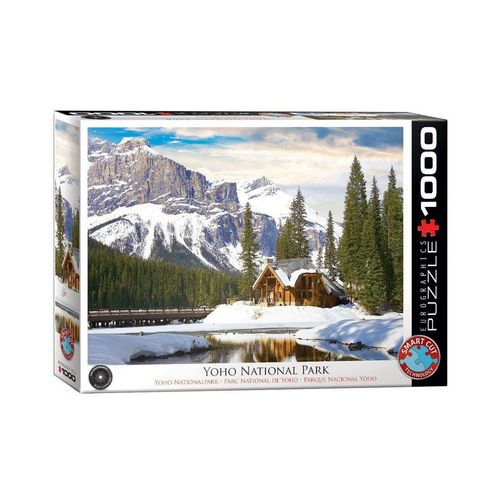empireposter Puzzle »Winter im Yoho National Park, British Columbia - 1000 Teile Puzzle Format 68x48 cm«, 1000 Puzzleteile