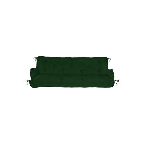 Beautissu Bankauflage »Flair HS«, Hollywoodschaukel Auflagenset 180x50x8cm, grün