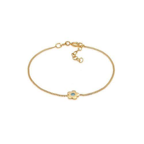 Elli Armband »Kinder Blume Kristalle 925 Silber