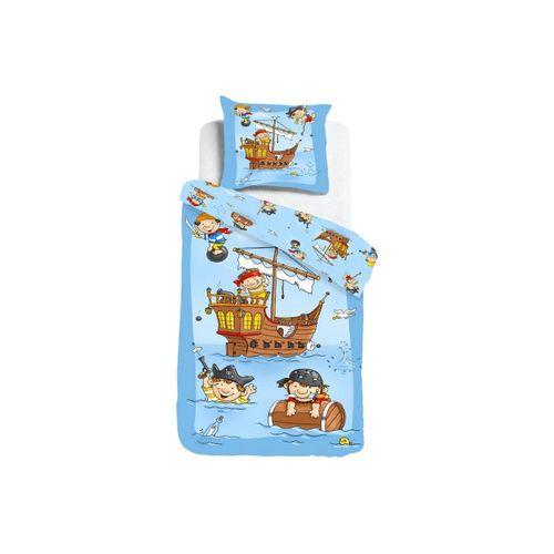 Kinderbettwäsche »Piratenschiff