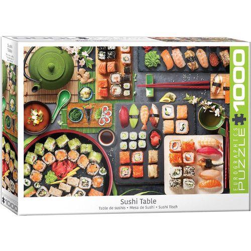 empireposter Puzzle »Sushi - Japanische Köstlichkeiten - 1000 Teile Puzzle im Format 68x48 cm«, 1000 Puzzleteile