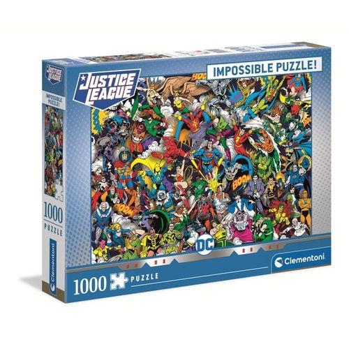 Clementoni® Puzzle »39599 DC Comics 1000 Teile Impossible Puzzle