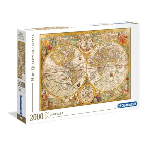 Clementoni® Puzzle »Puzzles 2000 Teile Clem-32557