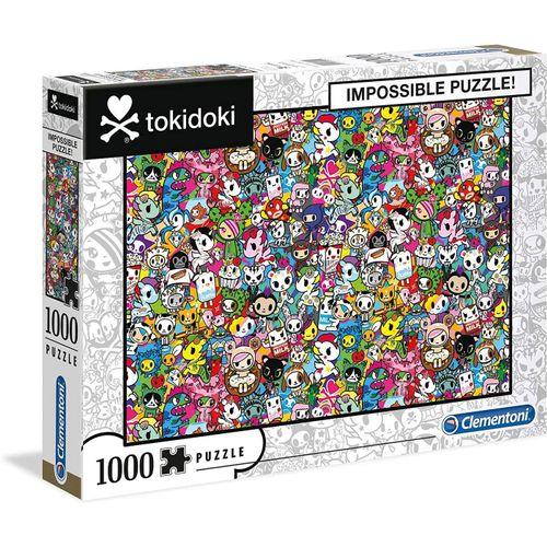 Clementoni® Puzzle »39555 Tokidoki 1000 Teile Impossible Puzzle