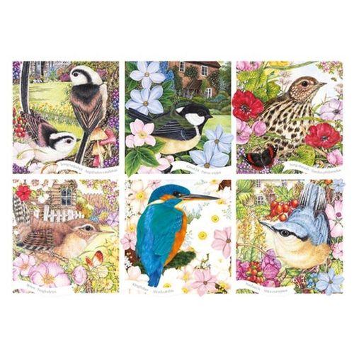 Otter House Puzzle »Anne Mortimer RSPB Garden Birds 1000 Teile Puzzle