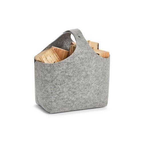 HTI-Living Aufbewahrungsbox »Aufbewahrungskorb Filz«, Aufbewahrungskorb, grau