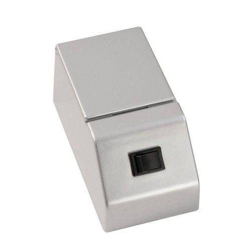 FACKELMANN Steckdose »FACKELMANN E-Box für Spiegelschrank FINN / Schalter und Steckdose mit Klappe / Maße (B x«