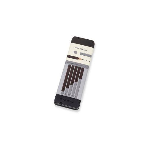 MOLESKINE Bleistift, Zeichenstift-Set - 5 Bleistifte