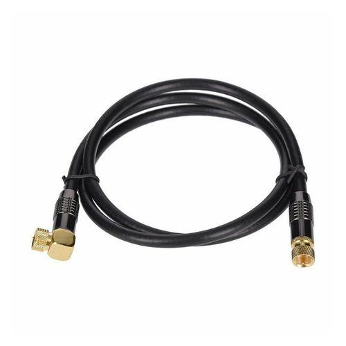 GEORGES »Georges SAT-Kabel schwarz 90° gewinkelt 1m