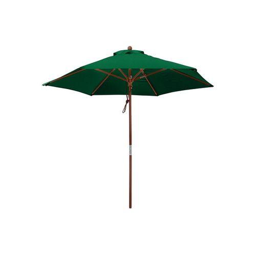 anndora-sonnenschirm Sonnenschirm »Sonnenschirm 2,5 m rund - Landhausschirm Gartenschirm«, grün