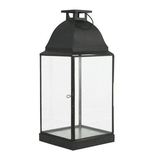 Ib Laursen Kerzenhalter »Laterne Windlicht Kerzenhalter H 49cm Metall Glas Ib Laursen 0853-25«