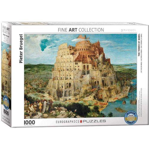 empireposter Puzzle »Der Turmbau zu Babel von Pieter Bruegel