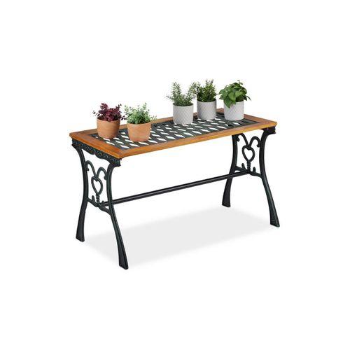 relaxdays Gartentisch »Gartentisch rechteckig«