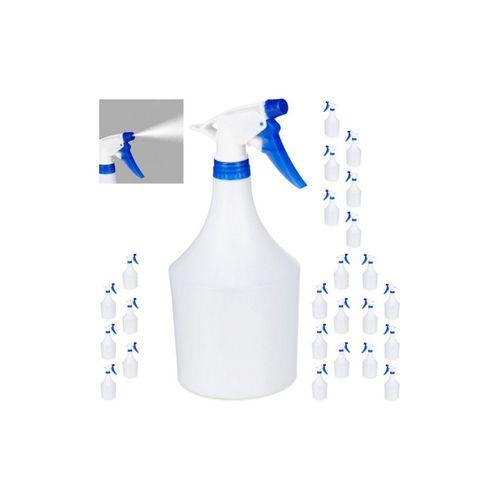 relaxdays Sprühflasche »24x Sprühflasche in Blau«