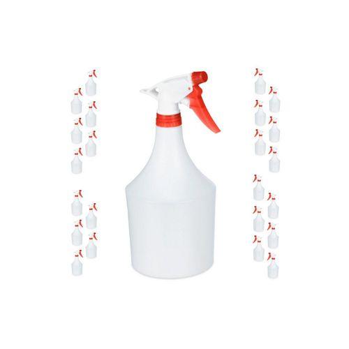 relaxdays Sprühflasche »24x Sprühflasche in Rot«