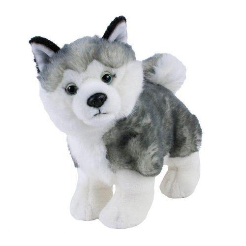 Teddys Rothenburg Kuscheltier »Hund Husky 25 cm stehend« (Plüschhusky Stofftier Plüschtier)