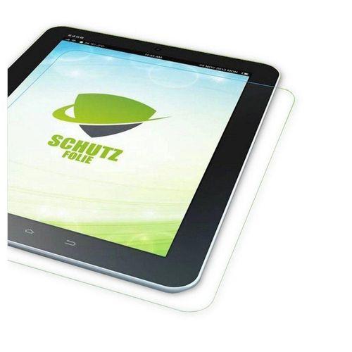 Wigento Tablet-Hülle »1x HD LCD Displayschutz für Lenovo Tab E10 TB-X104F 10.1 Schutz Folie + Poliertuch«