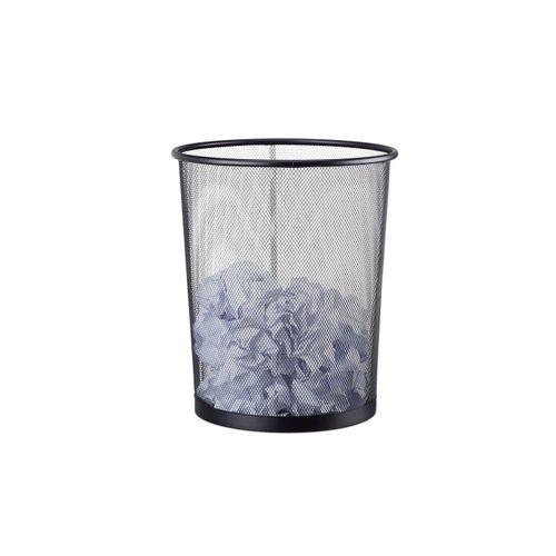 relaxdays Papierkorb »Großer Papierkorb Drahtgeflecht«