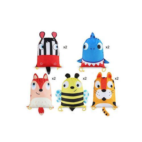 BeebeeRun Lernspielzeug »10 Stück Mitgebsel Kindergeburtstag Geschenktüten« (10-St), Partytüten Candy Tüten Geschenktüten Mitgebsel Beutel
