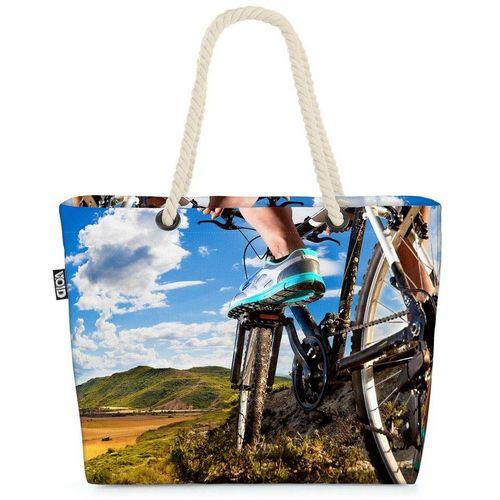 VOID Strandtasche (1-tlg), Mountainbike Ausflug Beach Bag Fahrrad fahren Mountain Bike Rad Tour Sport