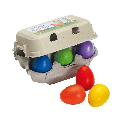 Erzi® Spiellebensmittel »bunte Eier im Karton, Spiellebensmittel«