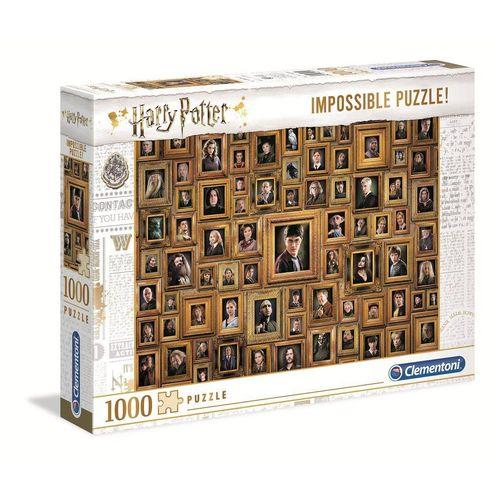 Clementoni® Puzzle »61881 Harry Potter 1000 Teile Impossible Puzzle