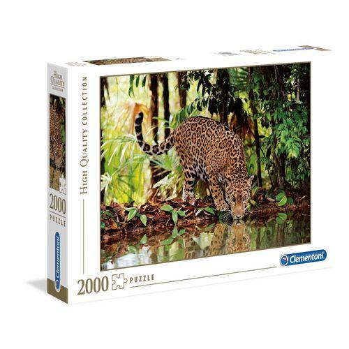 Clementoni® Puzzle »Clementoni 32537 Leopard 2000 Teile Puzzle«, Puzzleteile