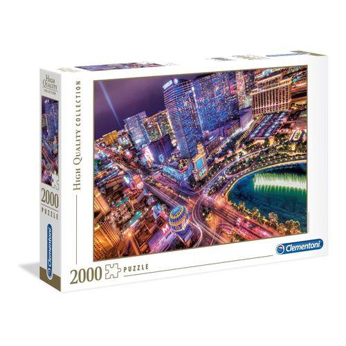 Clementoni® Puzzle »Las Vegas bei Nacht 2000 Teile Puzzle