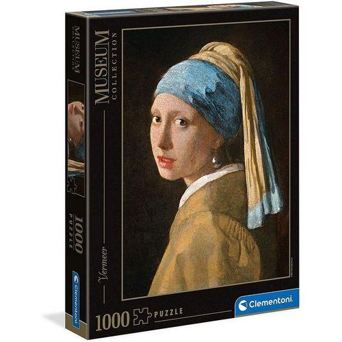 Clementoni® Puzzle »Museum Collection Mädchen mit dem Perlenohr«, Puzzleteile, bunt