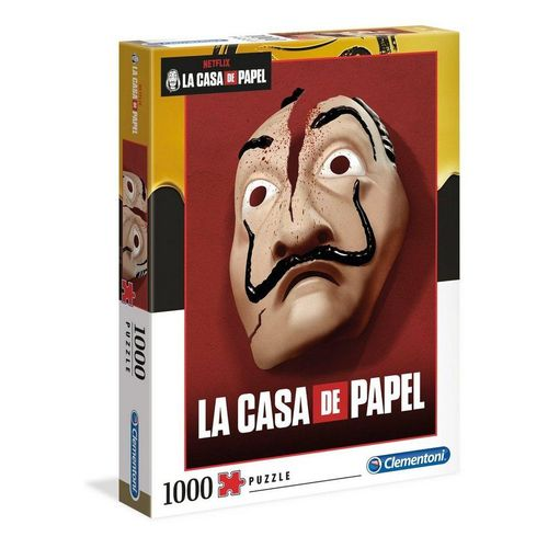 Clementoni® Puzzle »La Casa De Papel 1000 Teile Puzzle«, Puzzleteile