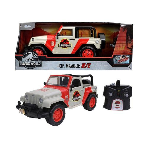 JADA Spielzeug-Auto »Jurassic Park RC Jeep Wrangler 1:16«