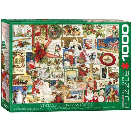 empireposter Puzzle »Klassische Weihnachtskarten Art Deco