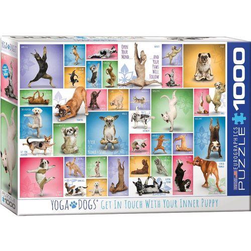 empireposter Puzzle »Yoga Hunde