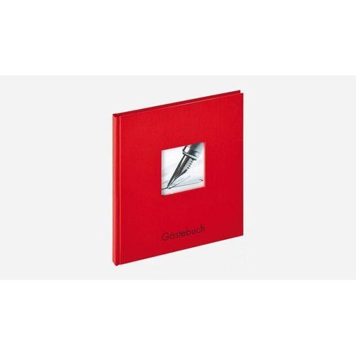 Walther Album »GB-205-R Fun Gästebuch 23x25 cm rot«