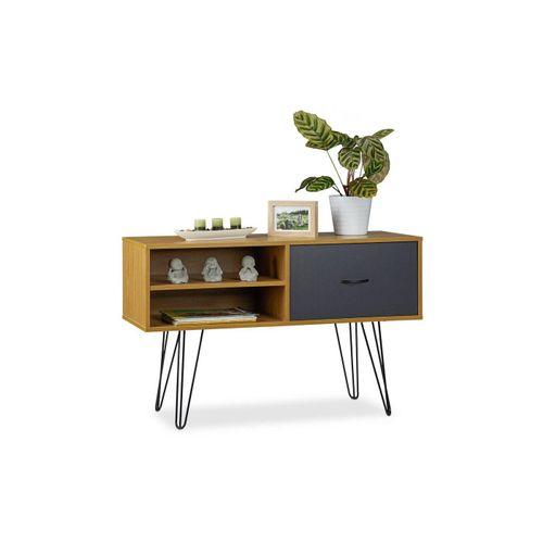 relaxdays Sideboard »Sideboard Retro Design«