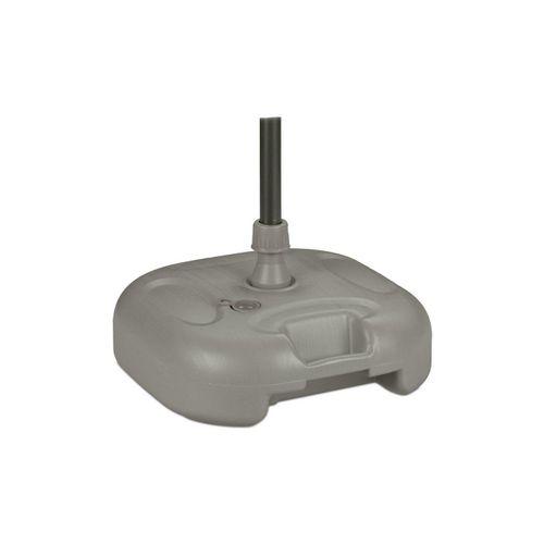 relaxdays Kunststoffschirmständer »Sonnenschirmständer in Grau«