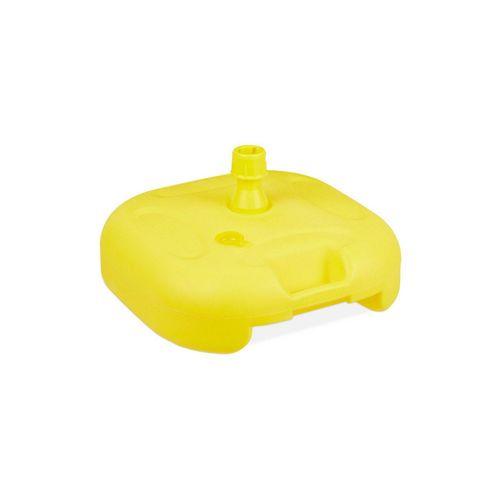 relaxdays Kunststoffschirmständer »Sonnenschirmständer gelb«