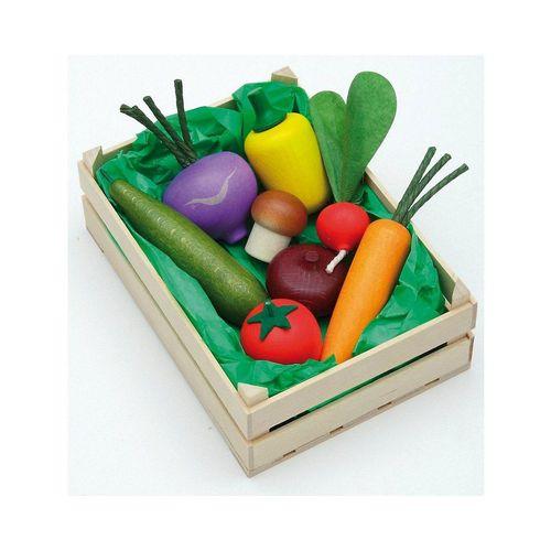Erzi® Spiellebensmittel »Spiellebensmittel Gemüse in Stiege«