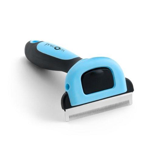PRECORN Fellbürste »Hundebürste Katzenbürste Unterfell-Bürste Hunde-Kamm Fellpflege Hundepflege Pflegebürste«, blau