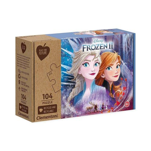 Clementoni® Puzzle »Puzzle 104 Teile - Die Eiskönigin 2«, Puzzleteile