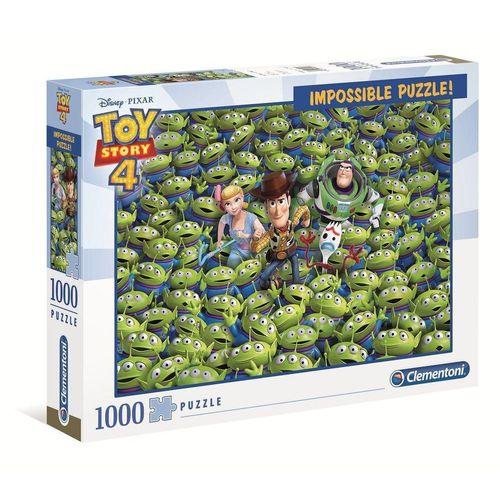 Clementoni® Puzzle »39499 Toy Story 4 Impossible 1000 Teile Puzzle