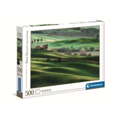 Clementoni® Puzzle »35098 Hügellandschaft in der Toskana 500 Teile«, 500 Puzzleteile